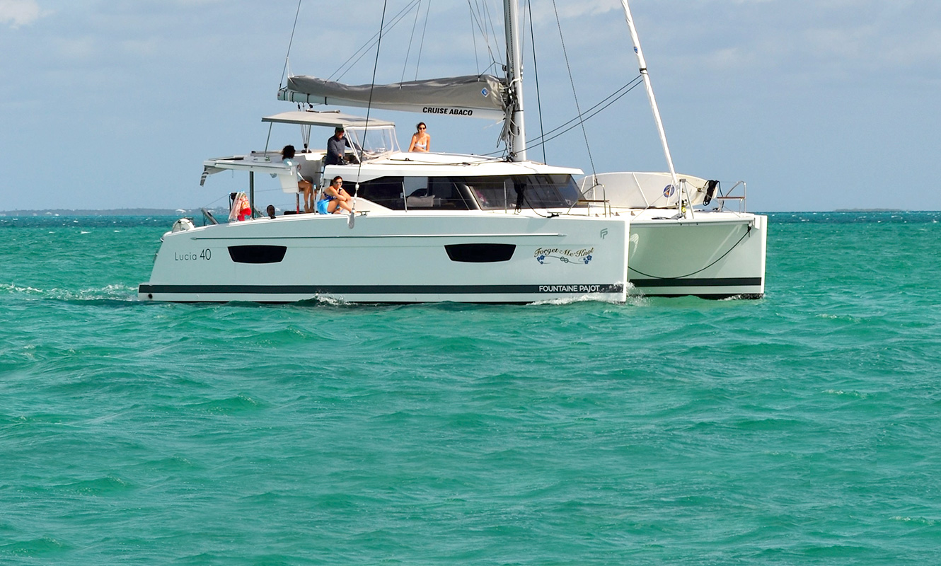 Forget Me Knot - Fountaine Pajot Lucia 40'