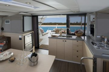 Catamaran Lucia 40' - galley
