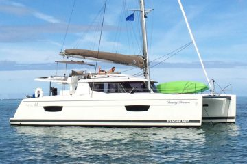 Chasing Dreams - Fountaine Pajot Helia 44'