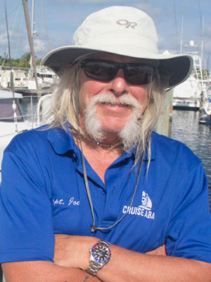 Captain Joe Cetner of Cruise Abaco