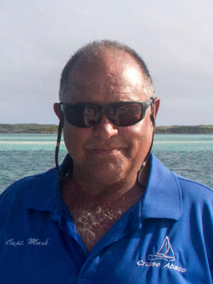 Captain Mark Gonsalves of Cruise Abaco