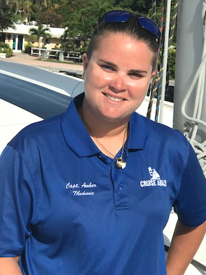 Captain Amber Sturrup of Cruise Abaco