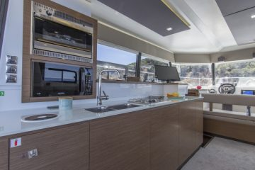 Fountaine Pajot MY 37' - Power Catamaran - galley