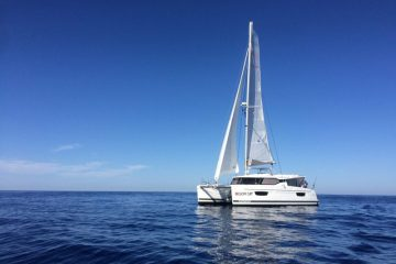 Lucky Cat - Fountaine Pajot Lucia 40'