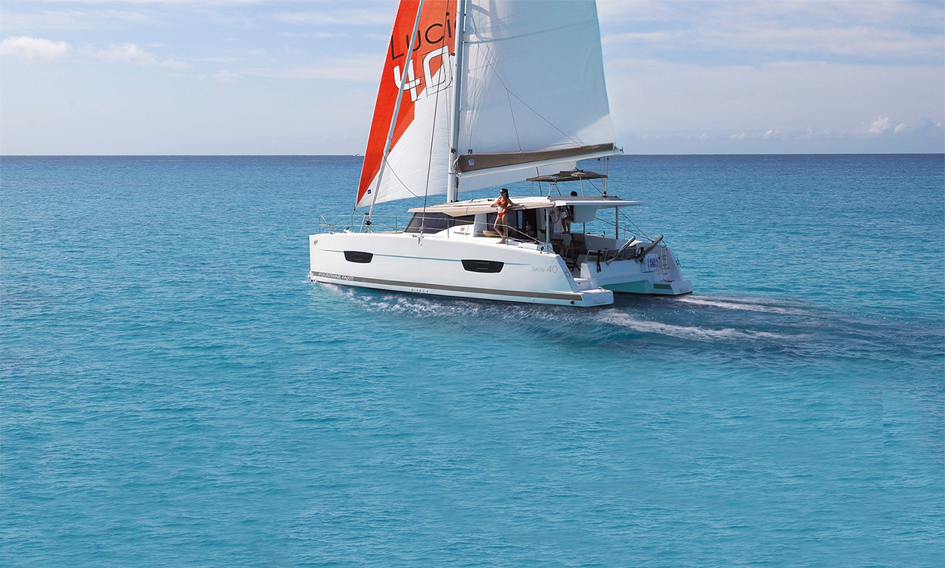 Fountaine Pajot Lucia 40'